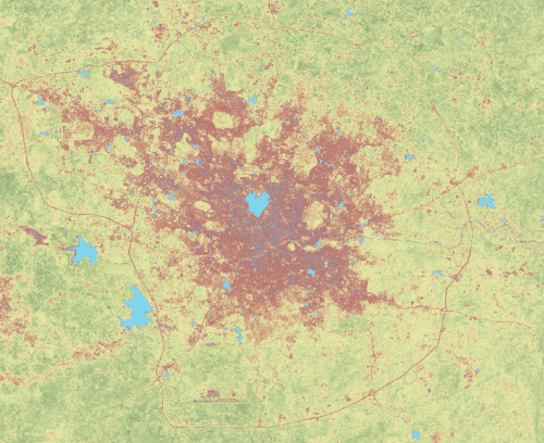 Landuse, Urban, Hyderabad