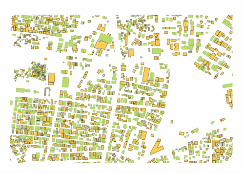 Urban, Building footprint, Spatial Analytics, Planning, Big Data